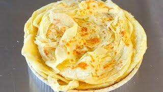 烙饼怎么做才不硬?教你做家常饼,不用烫面,照样柔软筋道,香