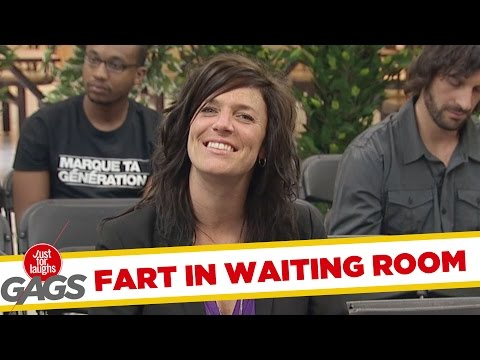 Old People Fart in Waiting Room !