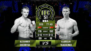 Gambar cover № 11 ALEXANDER CHERNYSH vs VLADISLAV TKACHENKO   BFC 51