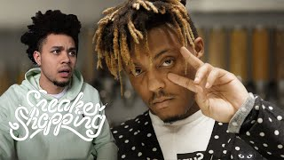Juice WRLD Goes Sneaker Shopping With Complex REACTION!