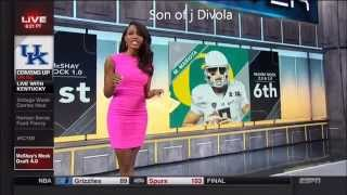 If There Were Any Doubters... Cari Champion Hot as Sh__ (ESPN)