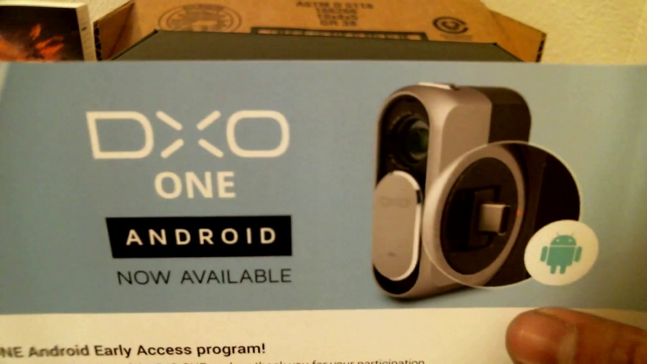dxo one android test