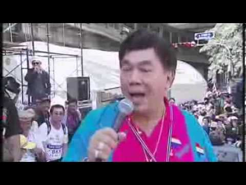 "Thailand: Western Journalist ""Duels"" with Thai Protest Leader"