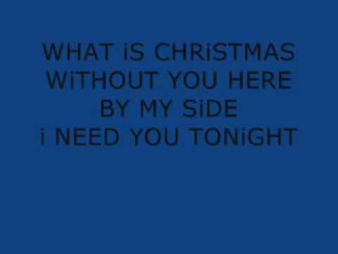 Sarah Connor - Christmas In My Heart + Lyrics