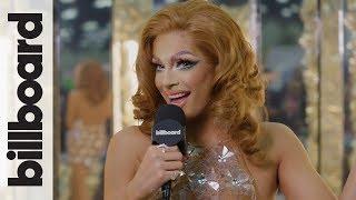 Valentina's Talks About Miss Vanjie & New Music at RuPaul's DragCon LA 2018 | Billboard Pride