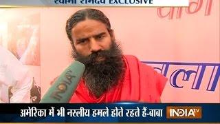 India TV Exclusive: Baba Ramdev Demands Nationwide Ban on Beef, Slams USA - India TV
