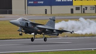 RIAT 2014  SWEDISH AIR FORCE JAS 39 GRIPEN
