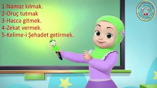 islamın şartları ilahisi  islamın şartı beştir  rukun islam  pillars of islam song