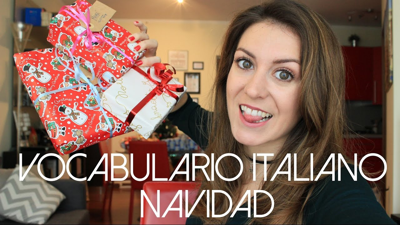 Vocabulario Navidad En Italiano Italiano Para Principiantes Youtube