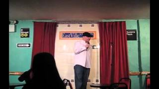 Tarro does stand up - EastVille Comedy Club 4-9-12