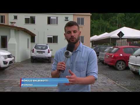 Blumenau: programa Minha Casa, Minha Vida entrega unidades no Bairro Fidélis
