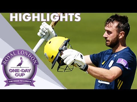 James Vince Makes Sublime 171 | Hampshire v Yorkshire: Royal London One-Day Cup 2018 - Highlights
