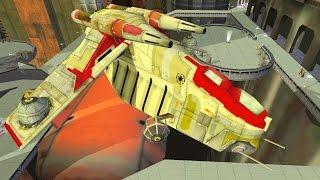Star Wars Battlefront 2 Mods - Suun Ra Desert City - Clone Wars