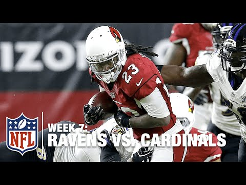 Chris Johnson Goes All-Madden vs. Ravens Defense! | Ravens vs. Cardinals | NFL