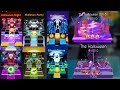 Rolling Sky & Dancing Line All Halloween Levels (HalloweenNight/Puzzle,SkeletonParty etc) SHAvibe