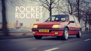 Peugeot 205 GTI - Pocket Rocket - (ENG audio - NL subs)