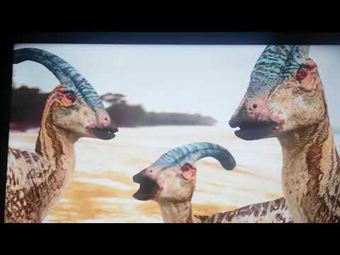 Prehistoric Park Parasaurolophus Calling