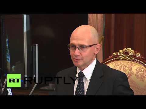 Russia: Rosatom CEO Kiriyenko tells Putin of record-breaking year
