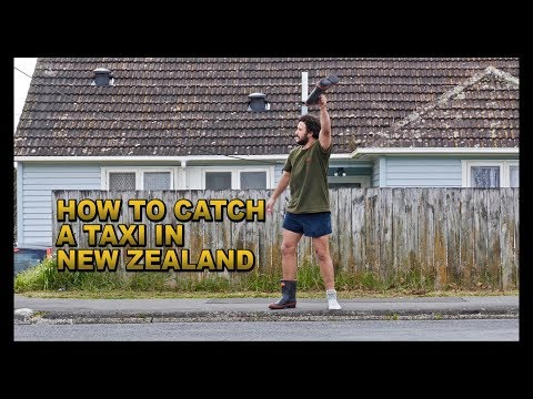 Welcome to New Zealand  | TIP 001: Catching a taxi