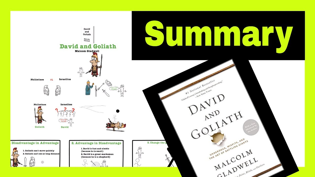 David and Goliath Book Summary - 3 Best Ideas from Malcolm Gladwell's David  and Goliath