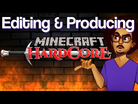 Editing & Producing PBG's Minecraft Hardcore season 5 | Vloggy Thing