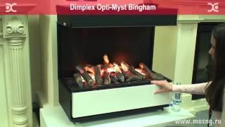 Видео обзор электрический камин Dimplex Bingham   opti myst