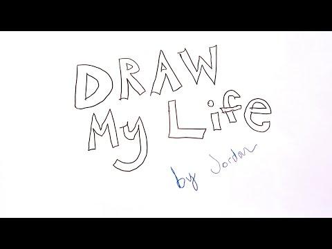 Draw My Life // Jordan from Travellight
