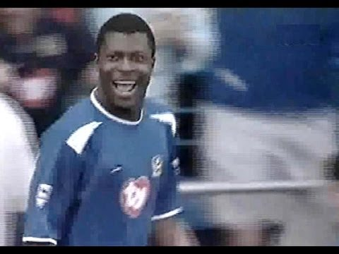 Portsmouth v Middlesbrough 2003-04 YAKUBU 4 GOALS !