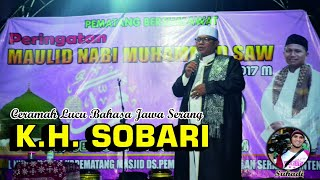 Ceramah K.H. Sobari - Acara Maulid Nabi Muhammad (Asal-Tangerang)