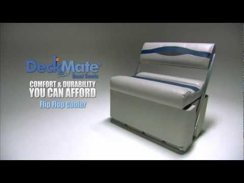 DeckMate Flip Flop Cooler Pontoon Boat Seats