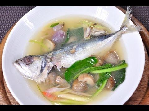 [Thai Food] Tom Yum Mackerel (Tom Yum Pla Tu)