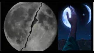 জানুন কখন কিভাবে বিশ্বনবী (সা.)'র আঙুলের ইশারায় পূর্ণ চাঁদ দ্বিখণ্ডিত হয়েছিল | Full moon Bifurcate