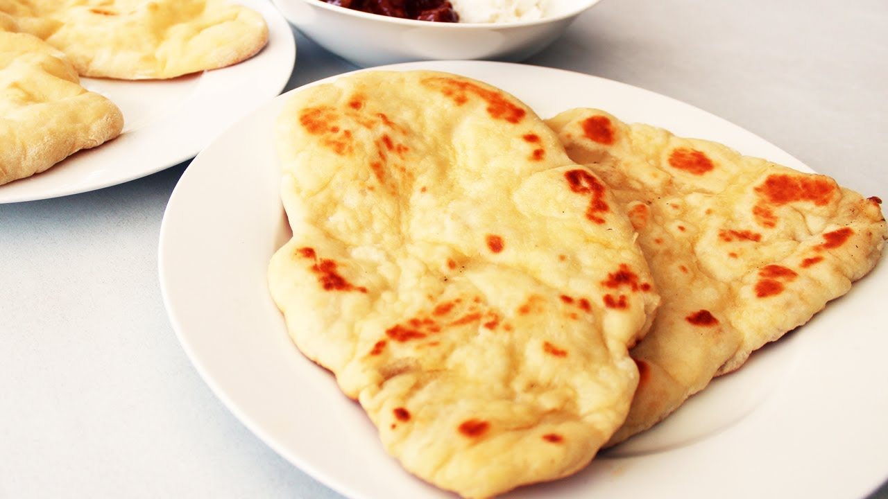 How to make naan bread indian video recipe youtube forumfinder