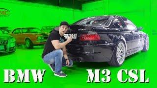 BMW E46 M3 CSL Testfahrt | SimonMotorSport | Folge 230