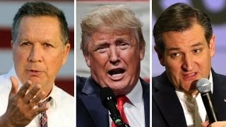 GOP candidates campaign on the eve of New York's primary
