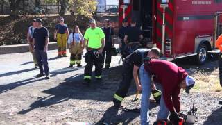 Lowlife Steals $13,000 Worth of Equipment from Firefighters on Scene of Fire, Tamaqua, 11-4-2015