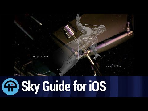 Use Sky Guide for AR Constellations!