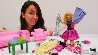Kız oyuncakları. Sevcan ve Barbie kaybolan kolyeyi arıyor.