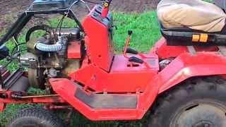 Міні-трактор Т-012, двигун УД-25, карбюратор 150сс