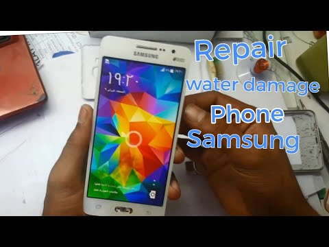 How to fix 100% water damaged Mobile Samsung