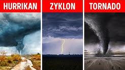 Hurrikan, Tornado, Zyklon – Was ist der Unterschied?