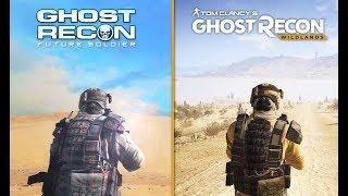 Ghost Recon Future Soldier vs Ghost Recon Wildlands - Comparison (2012 vs 2018)