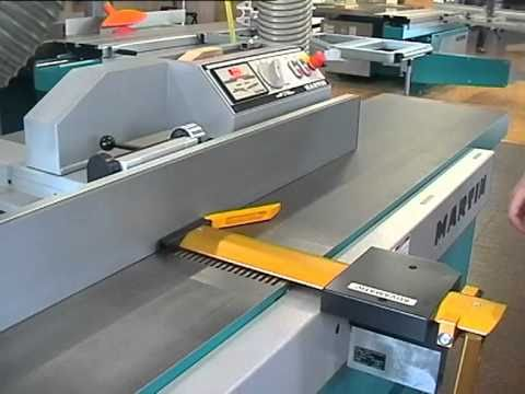 Martin woodworking machinery planing