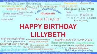 Lillybeth   Languages Idiomas - Happy Birthday