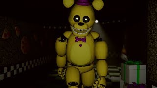 CHASED BY SPRING FREDDY! DO NOT STOP RUNNING! | FNAF Those Nights at Fredbear's