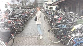 Vlog. Амстердам.Порно театр. Библиотека и травка
