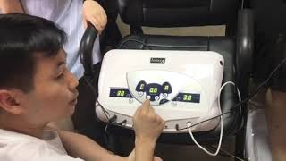 HK 805A High Quality Ion Spa Detox Machine with MP3 Music Function