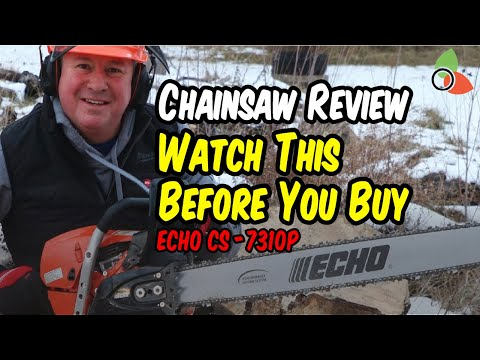 ECHO CS-7310P - Chainsaw Review - Watch This Before You Buy