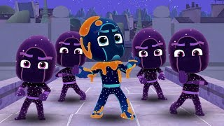 PJ Masks Hero Training and Sticky Splats Soccer - Disney Jr Gekko Catboy Owlette
