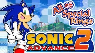 Sonic Advance 2: All 98 Special Rings